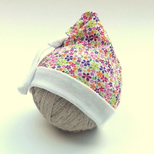 PROMOTION Mignon Bébé Fille Garçon Chapeau 0-3 mois 3-6 mois 100 /& coton doux