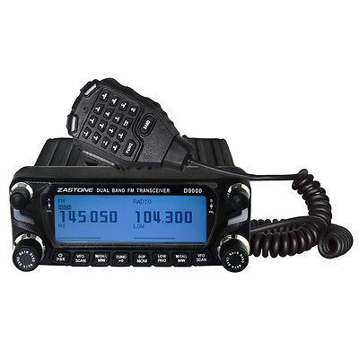 Zastone ZT-D9000 50W Car Walkie Talkie 50km Dual Band Mobile Radio Transceiver