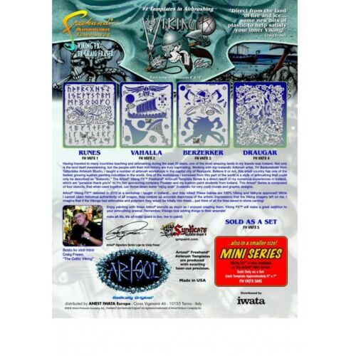 VIKING FX 34,27€//1Stk artool Mini-Schablonenset 200 503