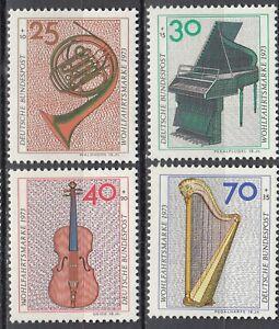 BRD 1973 Mi. Nr. 782-785 Postfrisch LUXUS!!!
