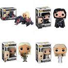 4Pc Pop PVC Game of Thrones Daenerys Drogon Ride Jon Snow Action Figure Gift Toy