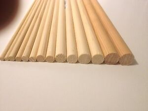 WOODEN-WOOD-DOWELS-DOWLING-CRAFT-STICKS-POLES-30cm-or-60cm-SWEET-TREE-ROD-RAIL