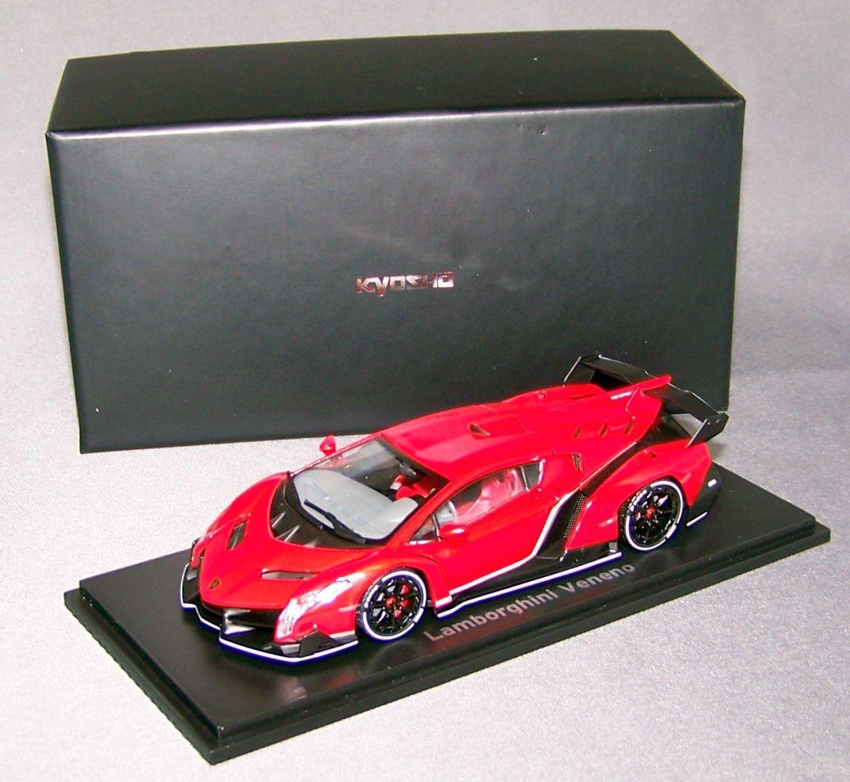 Koysho 1 43  05571rpw Lamborghini Veneno, Red Metallic