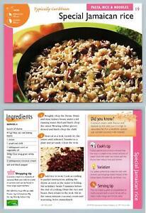 Special-Jamaican-Rice-19-Pasta-Recipes-For-Pan-Or-Wok-Imp-Ltd-Recipe-Card