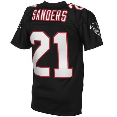 size 40 e5840 bc3f4 Mitchell & Ness Atlanta Falcons Deion Sanders TC Jersey | eBay