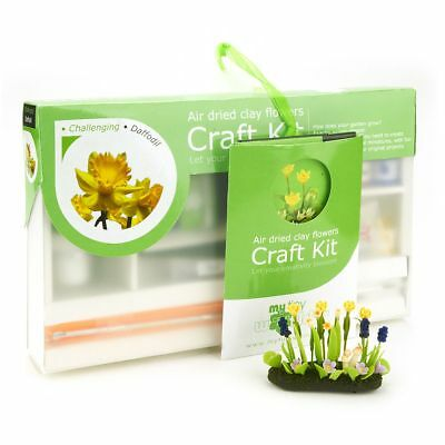 Contemplative Dolls House Miniature Daffodil Flower Kit Houses, Miniatures Challenging Let Our Commodities Go To The World