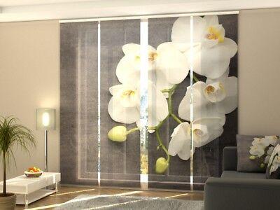"Fotogardinen ""lily Gr"" Schiebevorhang Schiebegardinen Vorhang Gardinen Curtains, Drapes & Valances Home & Garden Nach Maß"