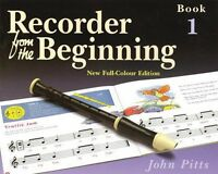 Recorder From The Beginning Book 1 Full Color Edition 014027193