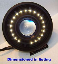 """Streetfighter Cafe Racer Motorcycle 71/2"""" Projector Headlight With LED Halo"""
