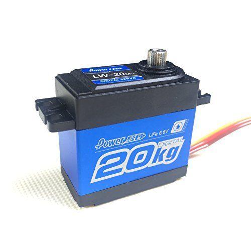 Power HD Waterproof 4.8-6.6V Super Torque Digital Servo Crawler RC Cars LW-20MG
