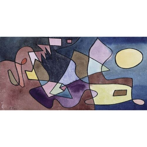 Stampa su Tela Paul Klee Dramatic Landscape Canvas Prints