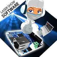 Moncha LITE Ethernet ILDA SD card laser show software controller interface DAC