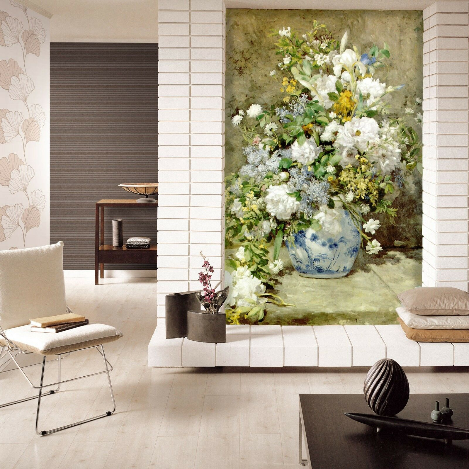 3D Farbeed Jardiniere Paper Wall Print Wall Decal Wall Deco Indoor Murals