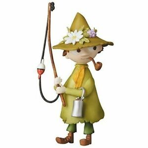 Medicom-Toy-UDF-Moomin-Series-2-Snufkin-with-Fishing-Rod-Figure-from-Japan-NEW