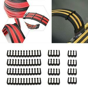 12Pcs-PP-Cable-Comb-Clamp-Clip-Dresser-For-2-5-3-0-mm-Cables-Black-6-8-24-Pin