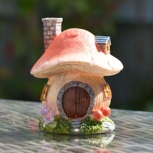 Champignon Secret Magique Fée Jardin Maison Décoration Pelouse Oranment Accessoires