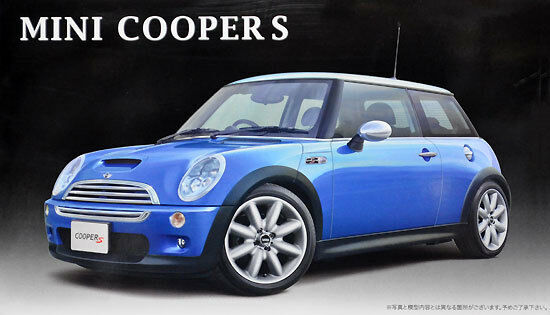FUJIMI Mini Cooper S RS64 1 24 Plastic model FROM JAPAN
