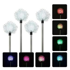 4Pcs-Solar-Powered-Garden-Decor-Stake-Path-Lawn-Yard-LED-Outdoor-Landscape-Light