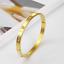 Rose-Gold-Silver-Plated-Stainless-Steel-Metal-Rivet-CZ-Crystal-Bangle-Bracelet thumbnail 13