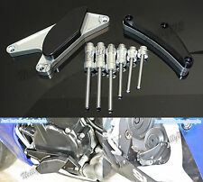 Argento Motore Copertura Sliders Protezione Per 2006-2010 SUZUKI GSXR 600 750 K6