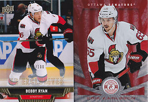 13-14-Upper-Deck-Bobby-Ryan-100-UD-Exclusives-Senators-2013
