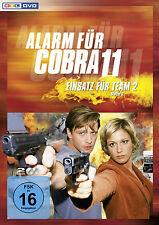 § 2 DVDs * ALARM FÜR COBRA 11 - EINSATZ FÜR TEAM 2 - STAFFEL 2 # NEU OVP