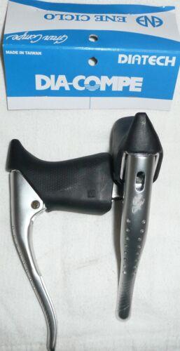 Dia Compe Gran Sport GC07H Road Bike Drop Bar Aero Leve del Freno con Cappe Nero