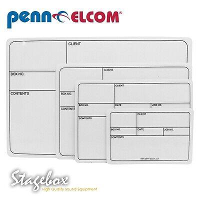 D2115L Penn Elcom Label For Shallow Dish