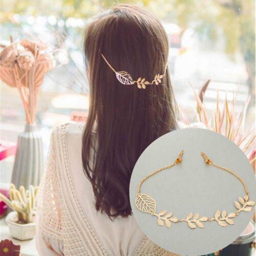 Bridal Fashion Jewelry Head Chain Hair Chain Hair Accessories For Women Leaves