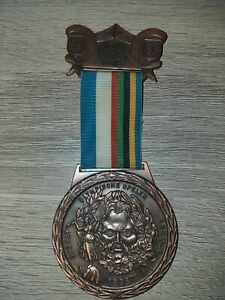 1896 Athens Greece /'Bronze/' Medal /& Display Stand !!! 1st Olympic Medals