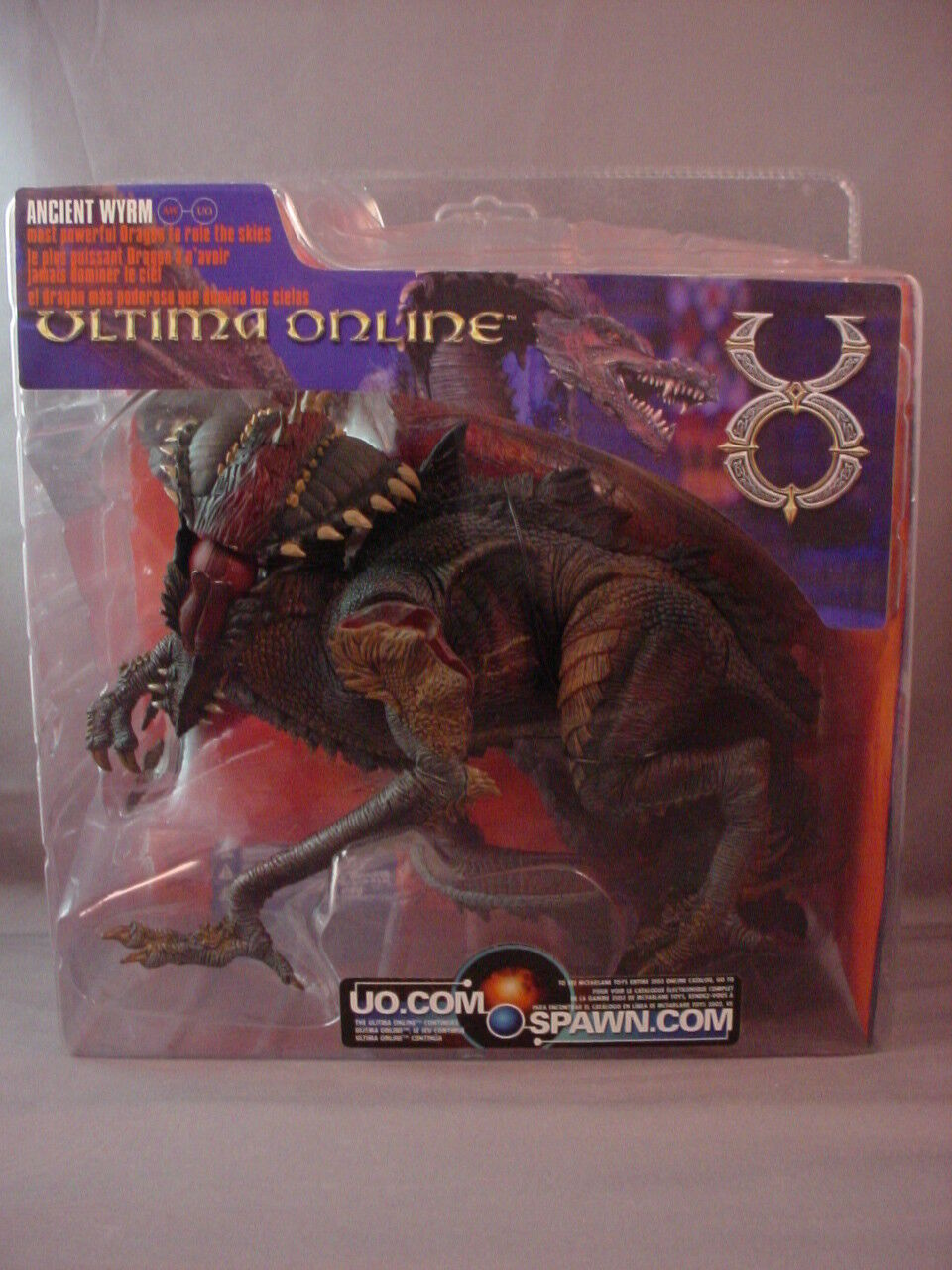 McFARLANE TOYS ULTIMA ONLINE ANCIENT WYRM DRAGON FIGURE SEALED