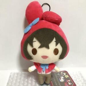 Bungo Stray Dogs x Sanrio Characters Osamu Dazai Hello Kitty Plush doll 6in