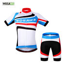 Men Cycling Jerseys Bib Shorts Kits Breathable Bicycle Clothing Bike Cycle Wear