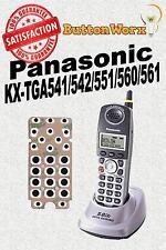 KEYPAD BUTTON REPAIR KIT Panasonic KX-TGA541s KX-TGA542m KX-TGA546s KX-TGA551m