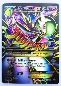 Gardevoir Mega EX Card 156//160 Matt Gold Card with Box Free 1 EX card