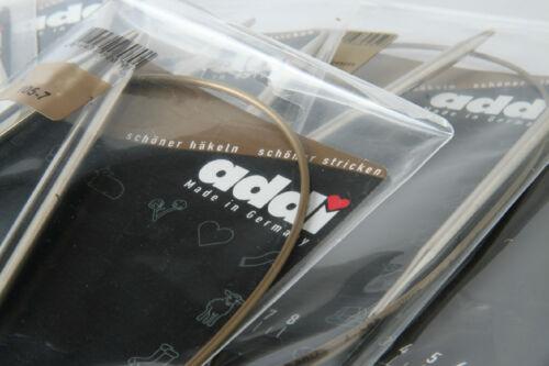 "12 Pairs addi Premium Circular Knitting Needles 24/"""
