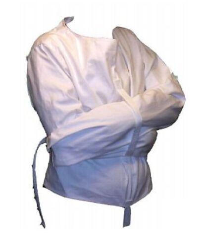 New costume Straight Jacket Large White