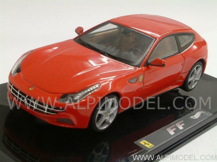 marca de lujo Ferrari FF 2011 rojo 1 1 1 43 HOT WHEELS W1187  servicio de primera clase