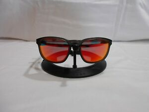 77af425691 OAKLEY ENDURO 00922-09 SUNGLASSES Fire Red Mirrored Polarized Lenses ...