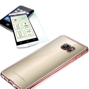 Metal-Etui-en-Silicone-Rose-0-3-Mm-H9-Verre-Trempe-pour-Samsung-Galaxy-A5