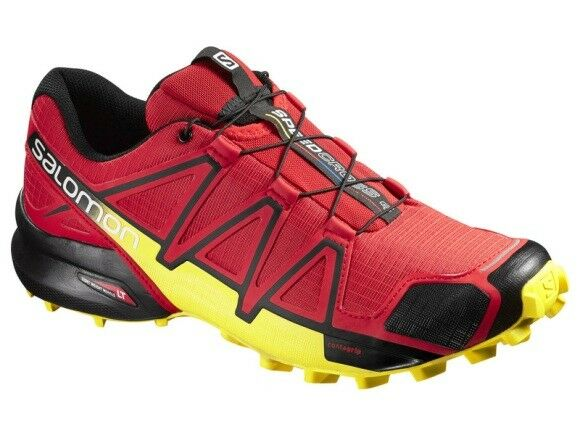 Salomon 4 Laufschuhe Speedcross 4 Salomon Gr 47 1/3 Trail Running Schuhe Herren b9d5e8