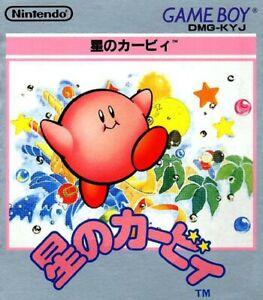 Nintendo-Gameboy-juego-Kirby-039-s-Dream-Land-1-jap-modulo