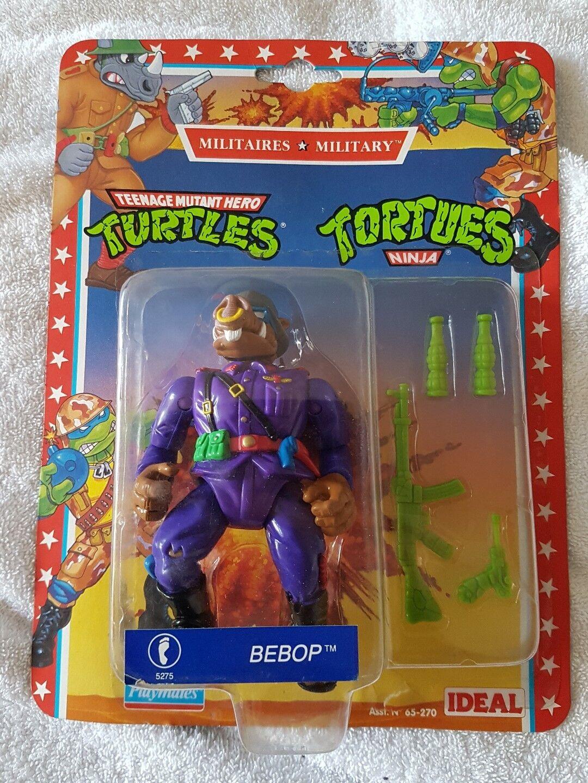 Teenage Mutant Ninja Turtles Militare Bebop Playmates Nuovo di Zecca