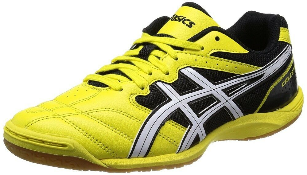 Asics Calcetto Calcetto Calcetto WD 6 Breit Innen- Fußball Futsal Schuhe Tst328 Gelb 25cm 4bd965