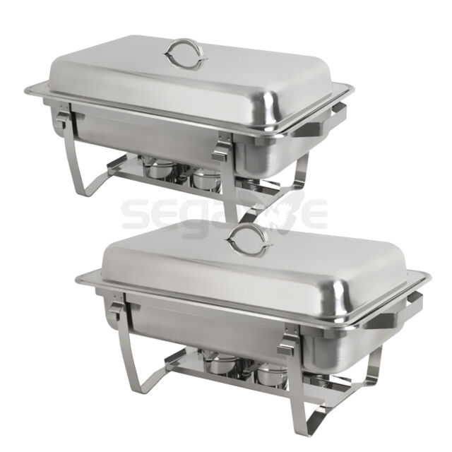Frequently Bought Together Chafing Dish Set Of 2 8 Quart
