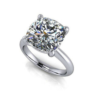 2-00Ct-Diamond-Hallmarked-14K-White-Gold-Womens-Ring-Solitaire-Engagement-Rings