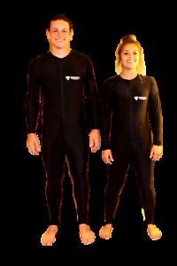 Lycra Full Body Rash Guard for Running, Exercising, Diving, Snorkel 8100 3X