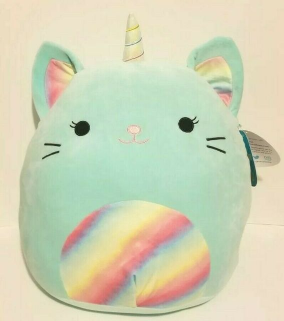 "Nicole The Caticorn Squishmallow 16"" Stuffed Animal SuperPillow Soft Plush"