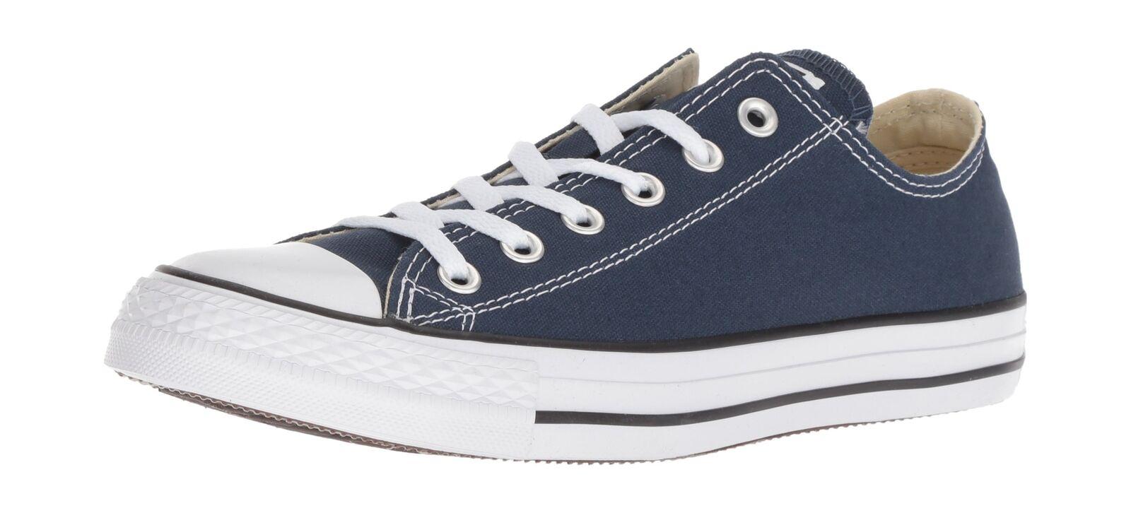 Zapatos promocionales para hombres y mujeres Converse Womens Chuck Taylor All Star Core Ox Sneakers Blue (Navy) (Navy)