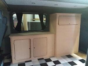 673d91c2e1 Image is loading MDF-Camper-Campervan-Interior-Kitchen-Cupboard-For-Sink-
